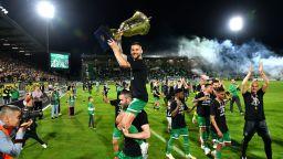 Шампионската радост в Разград (снимки и видео)