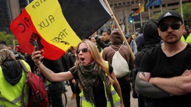 Tехнически неуредици и протест на жълти жилетки на евроизборите в Белгия