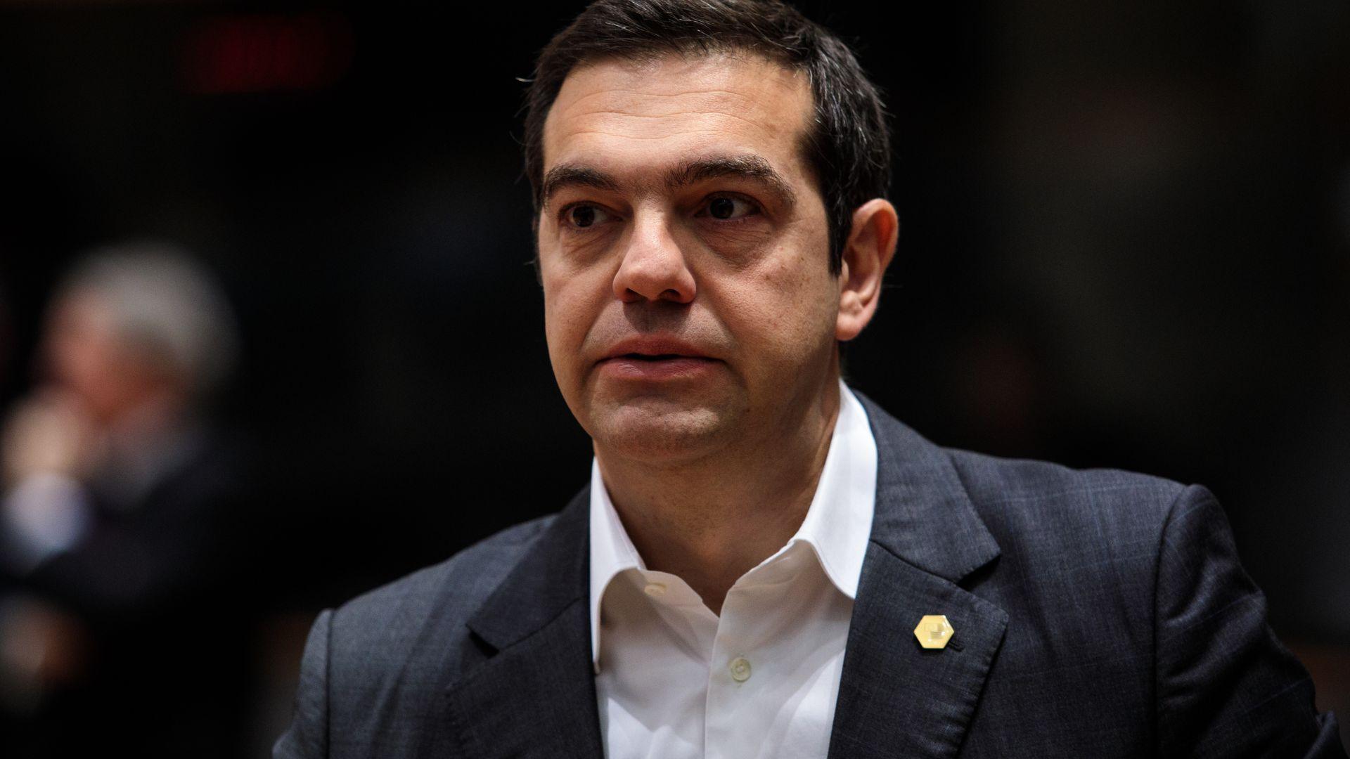Гръцкият премиер Алексис Ципрас обяви, че страната му ще гласува