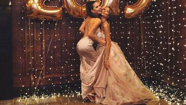 """Диана от """"Дяволското гърло"""" с пищна рокля на абитуриентския бал"""