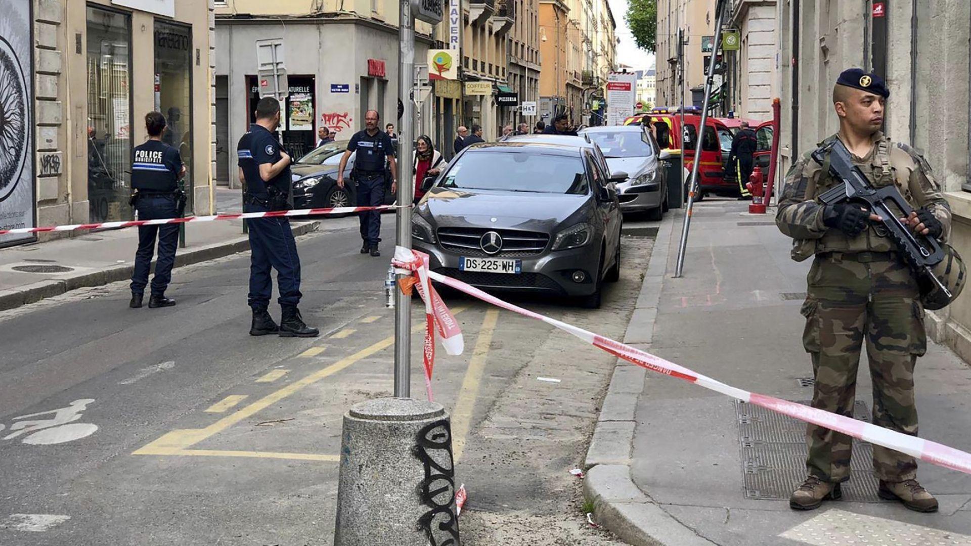Задържаха заподозрян за бомбения атентат в Лион