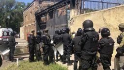 Обиски са причината за затворническия бунт в Одеса