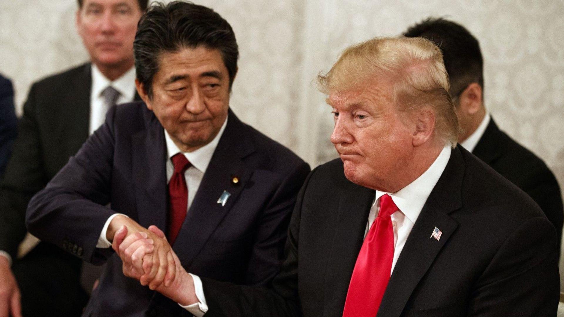 Япония ще купи още 105 самолета F-35, похвали се Тръмп