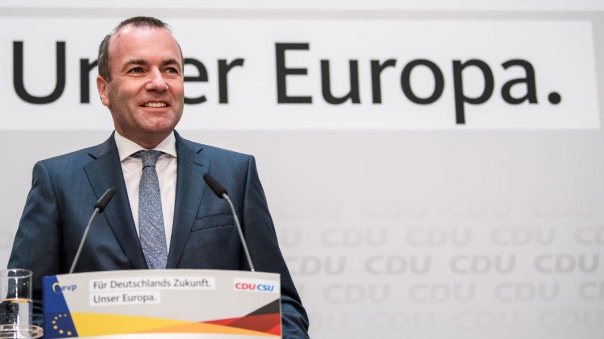 """Манфред Вебер иска ЕК да провери сделката за завод на """"Фолксваген"""" в Турция"""