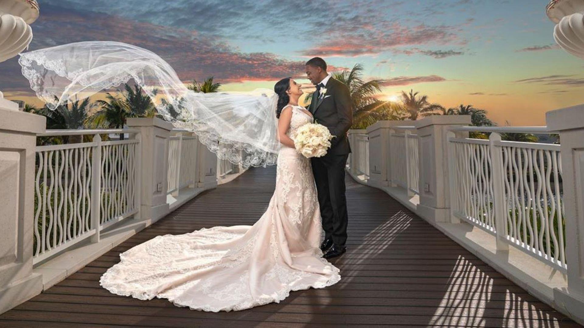 Българската снаха на Майкъл Джордан на частен остров за медения месец (снимки)