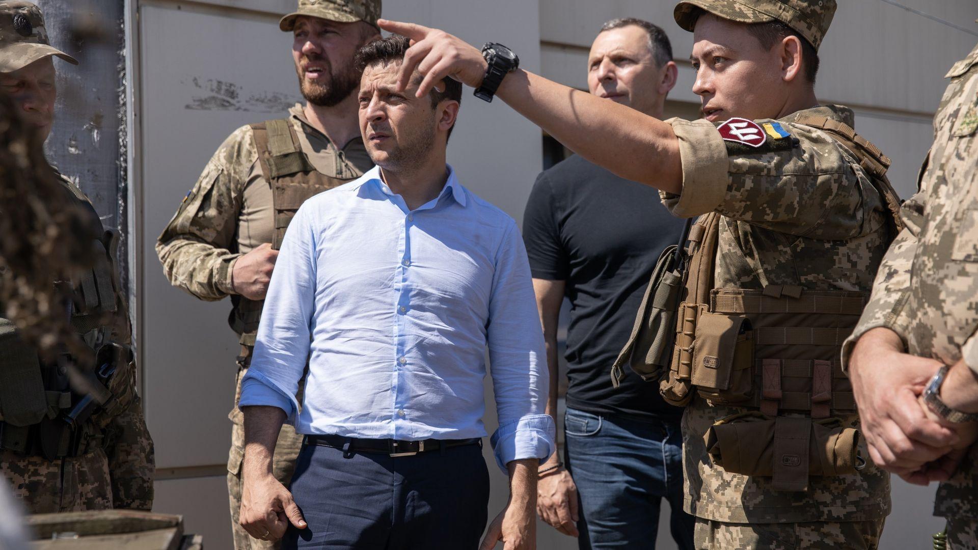 Зеленски се отказа от парада по случай Деня на независимостта - бил скъп