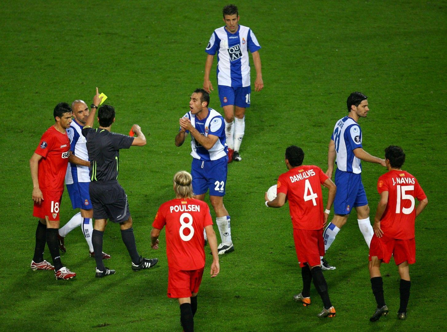 Севиля и Еспаньол изиграха страхотен финал за Купата на Уефа през 2007-а и андалусийците триумфираха след 2:2 и дузпи