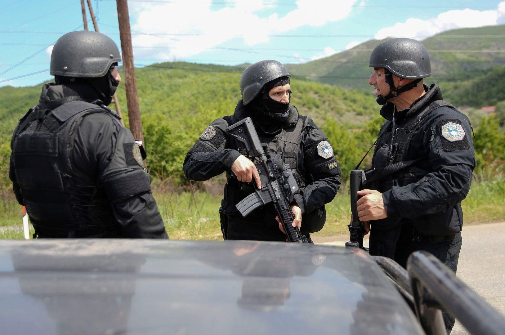 Специални части по време на операцията в Северно Косово
