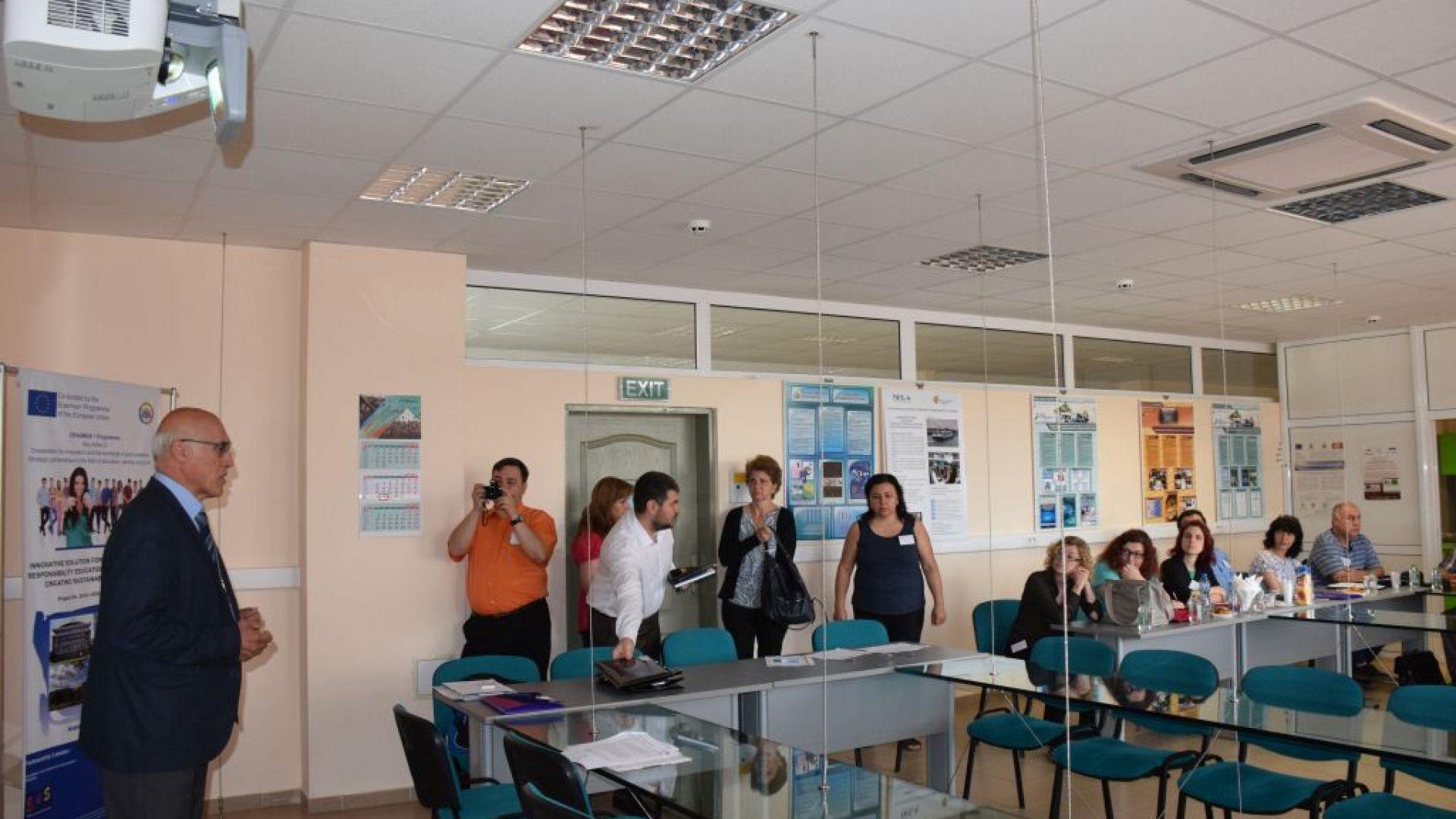 В Русе подготвят виртуални лаборатории за обучение в гимназиите, съобщиха