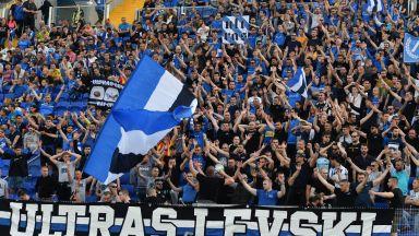 УЕФА отново разследва Левски, клубът се отказа от видеостената за феновете утре