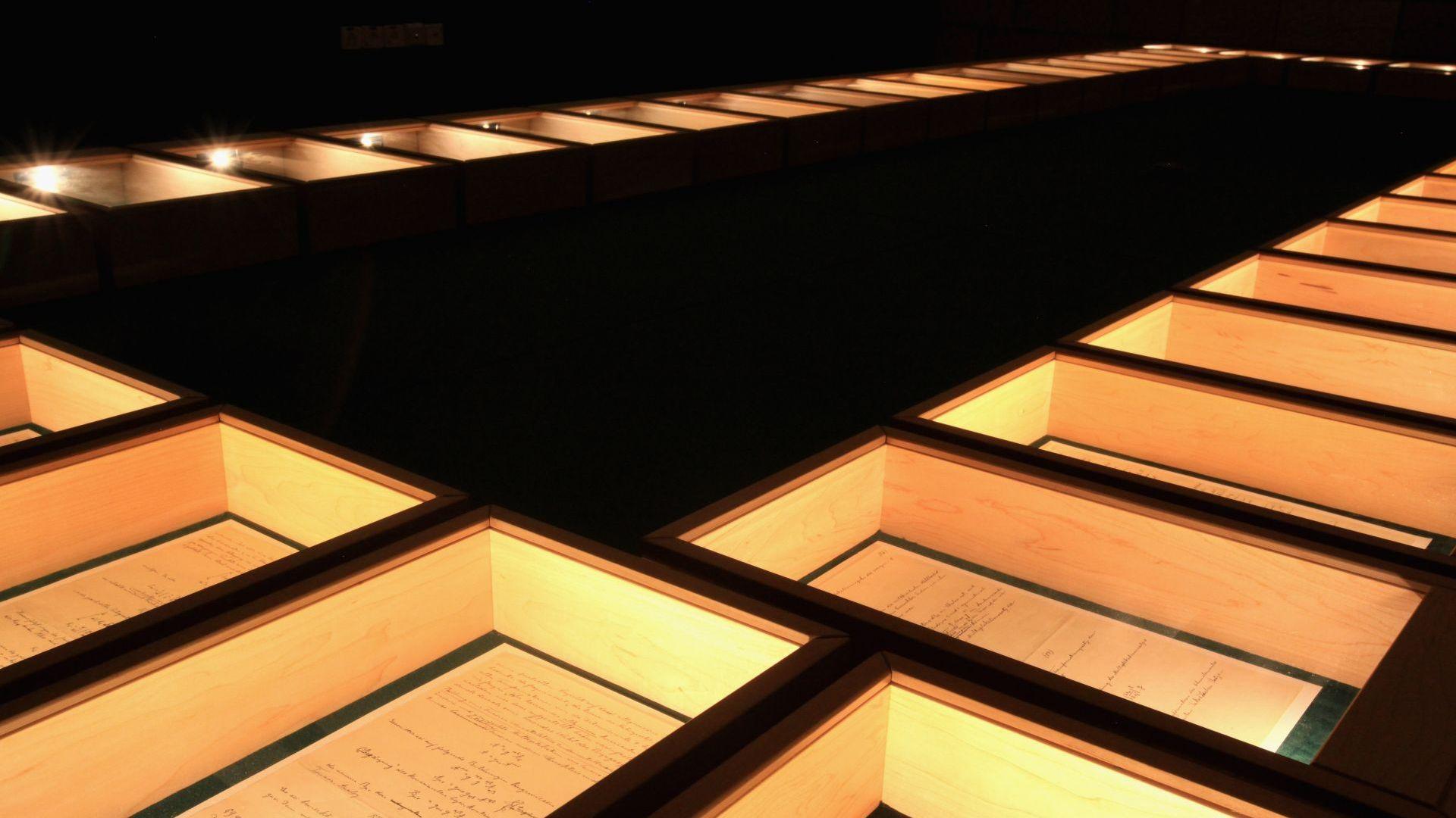 Оригиналът на Обща теория на относителността се съхранява в музей в Израел
