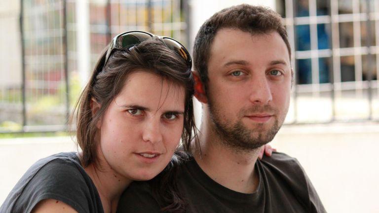 Пальо със съпругата си Таня
