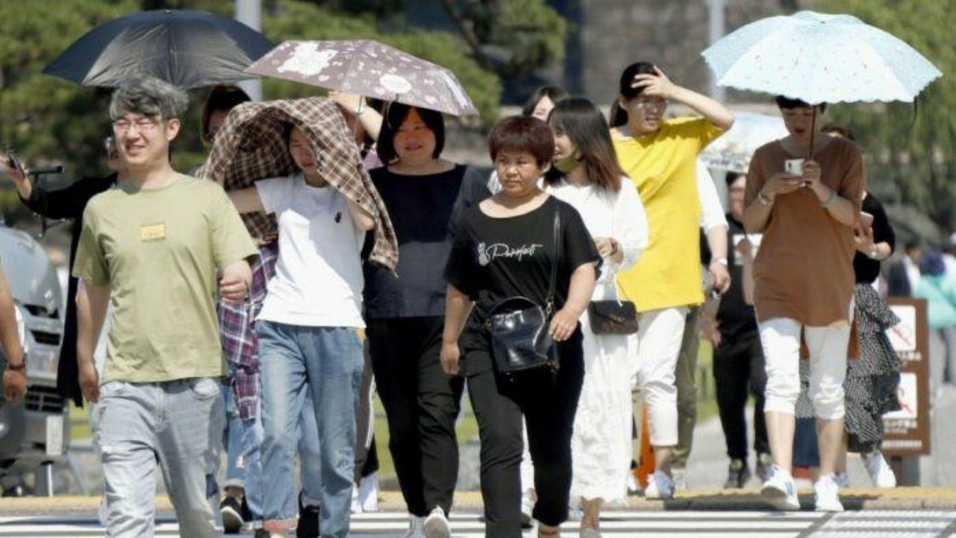 Поредна гореща вълна взе 11 жертви в Япония