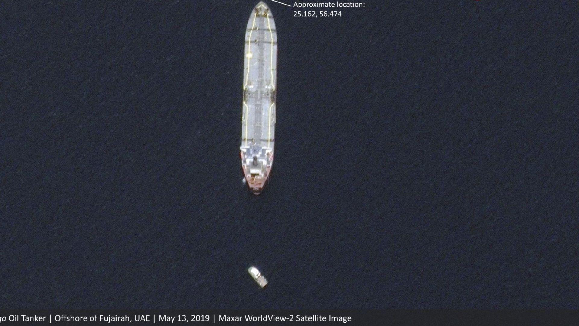 САЩ: Почти сигурно е, че 4-те танкера са поразени от ирански мини