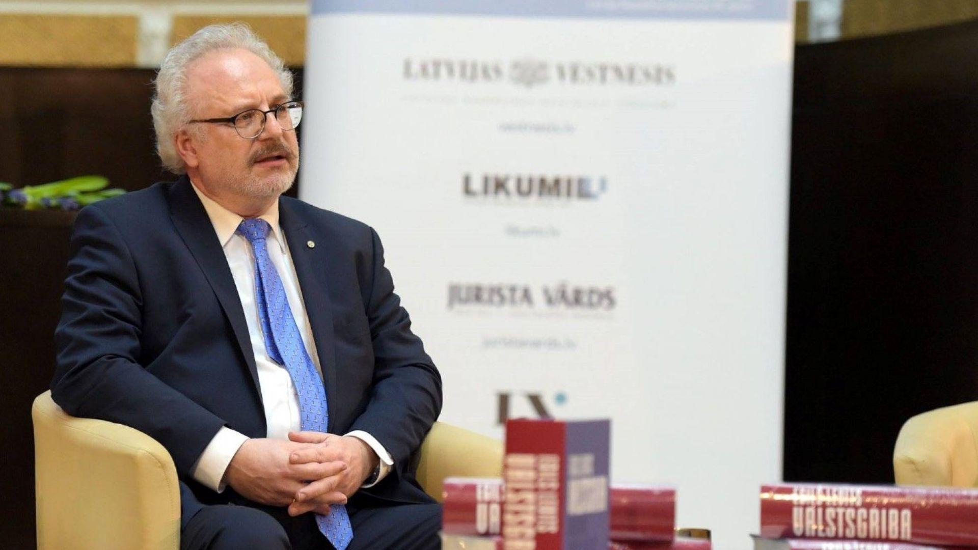 Бившият съдия от Европейския съд Егилс Левитс е новият президент на Латвия