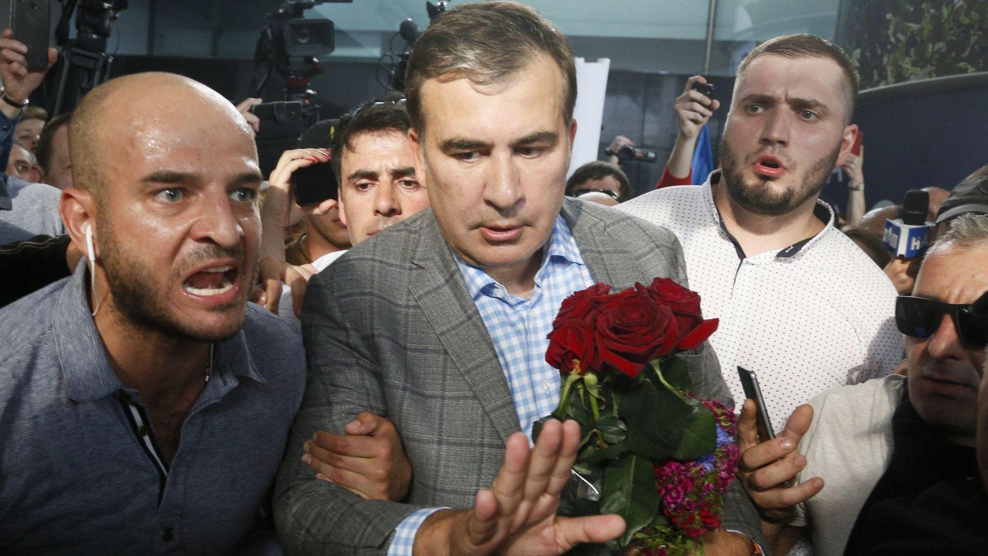 Михаил Саакашвили се завърна в Украйна