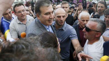 Саакашвили съобщи, че Зеленски му е предложил да стане вицепремиер