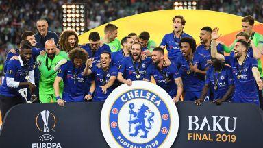 Челси разпиля Арсенал и грабна трофея в Лига Европа