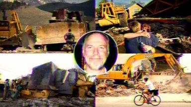 The Killdozer - защо един американец бронира булдозер, срина половината град и умря