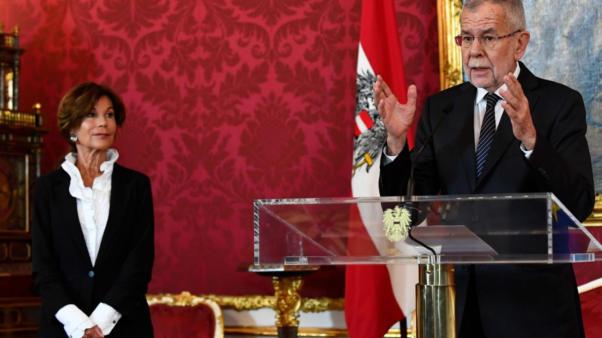 За първи път в историята на Австрия: Жена канцлер