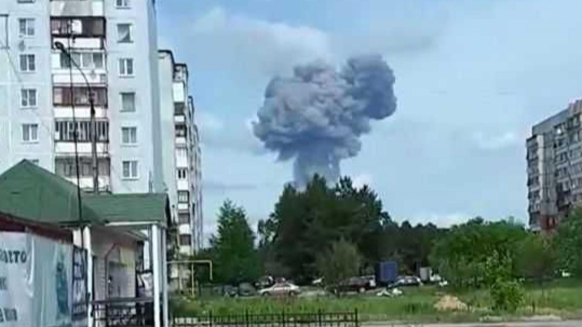 79 станаха ранените при взривове в руски завод за експлозиви