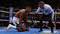 Стряскащо признание на треньора на Джошуа възмути бокса
