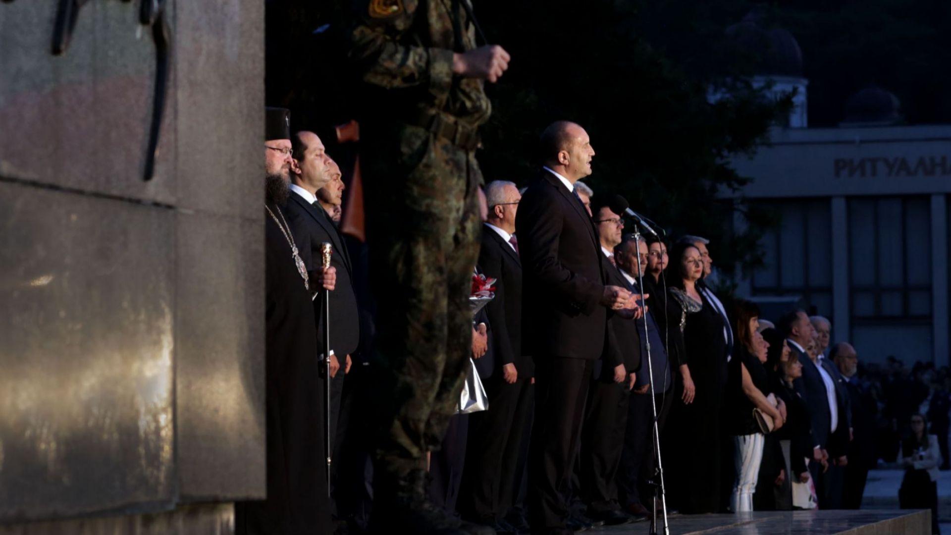 Румен Радев по случай 143 години от подвига на Ботевата чета: Свободата не е традиция, а често и саможертва