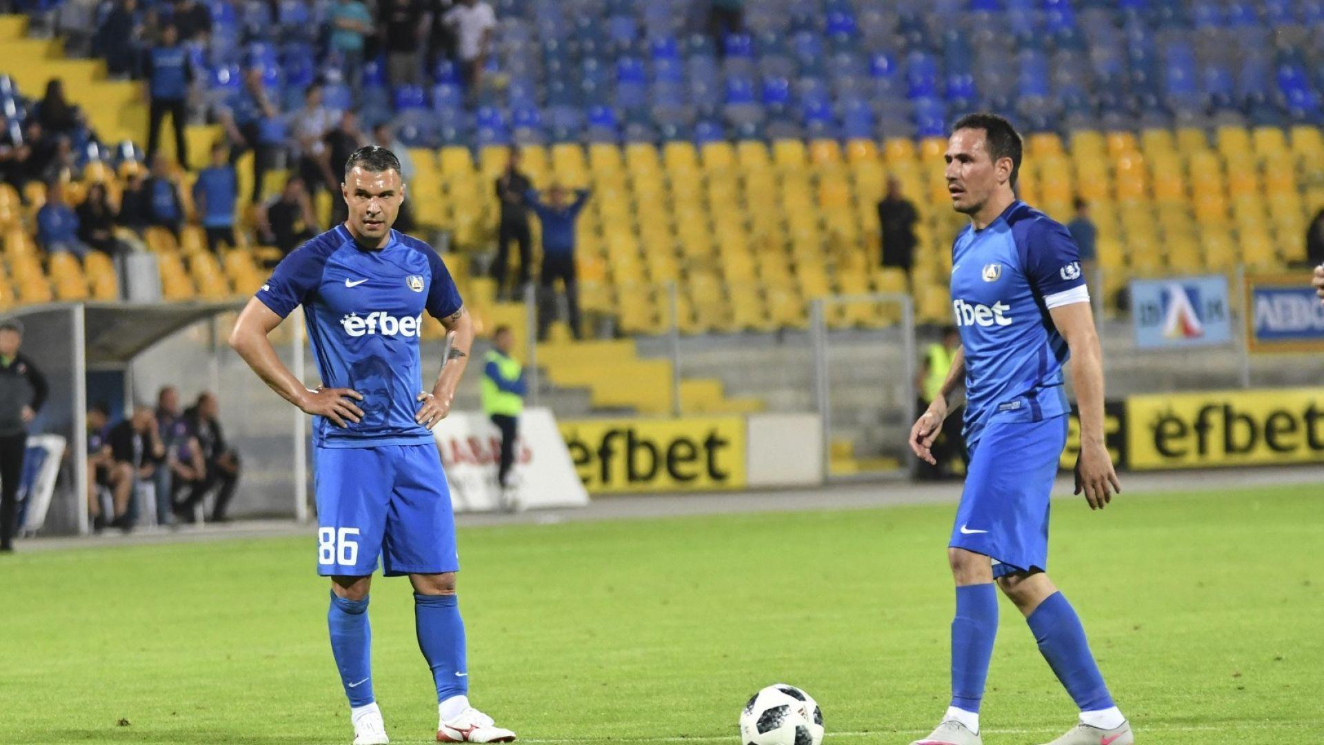 Пътищата на Левски и Валери Божинов се разделят
