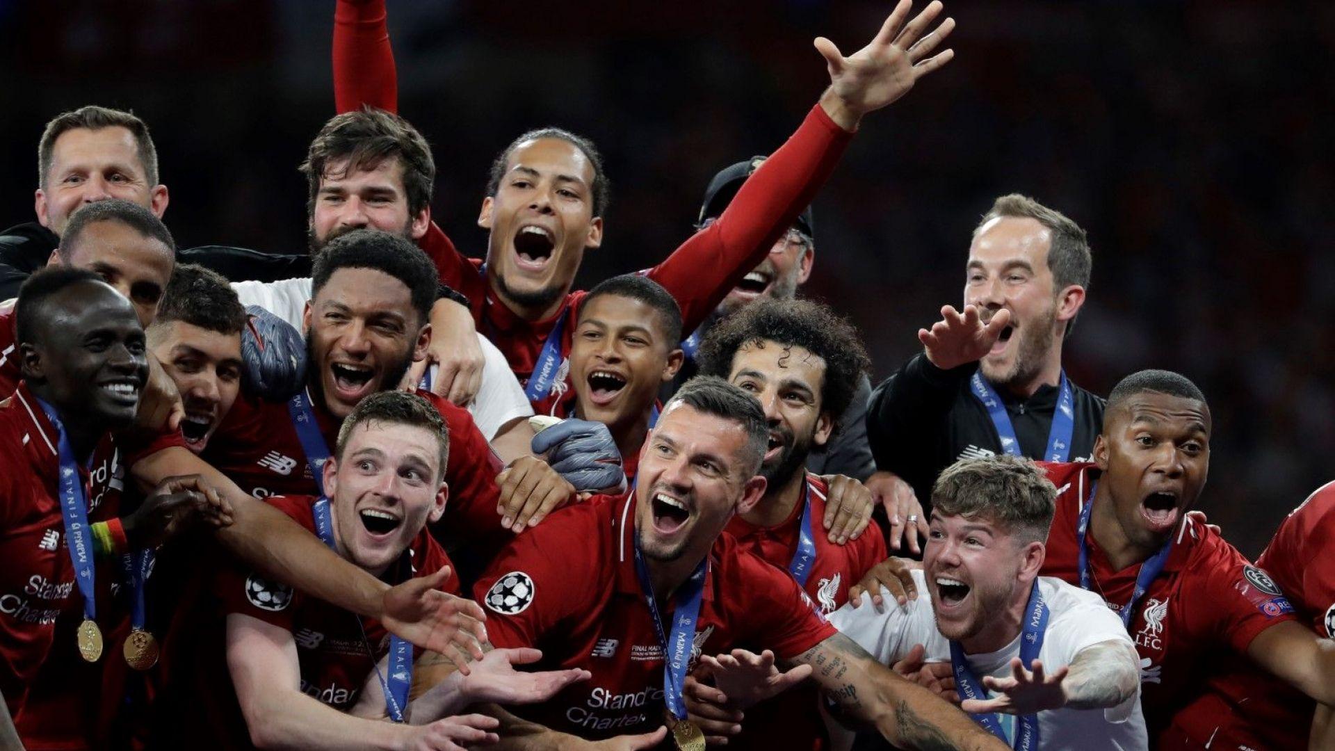Перфектният отбор на сезона в Шампионска лига (галерия)