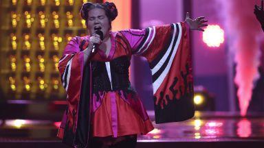 Победителката от Евровизия 2018 - на гей парада в София