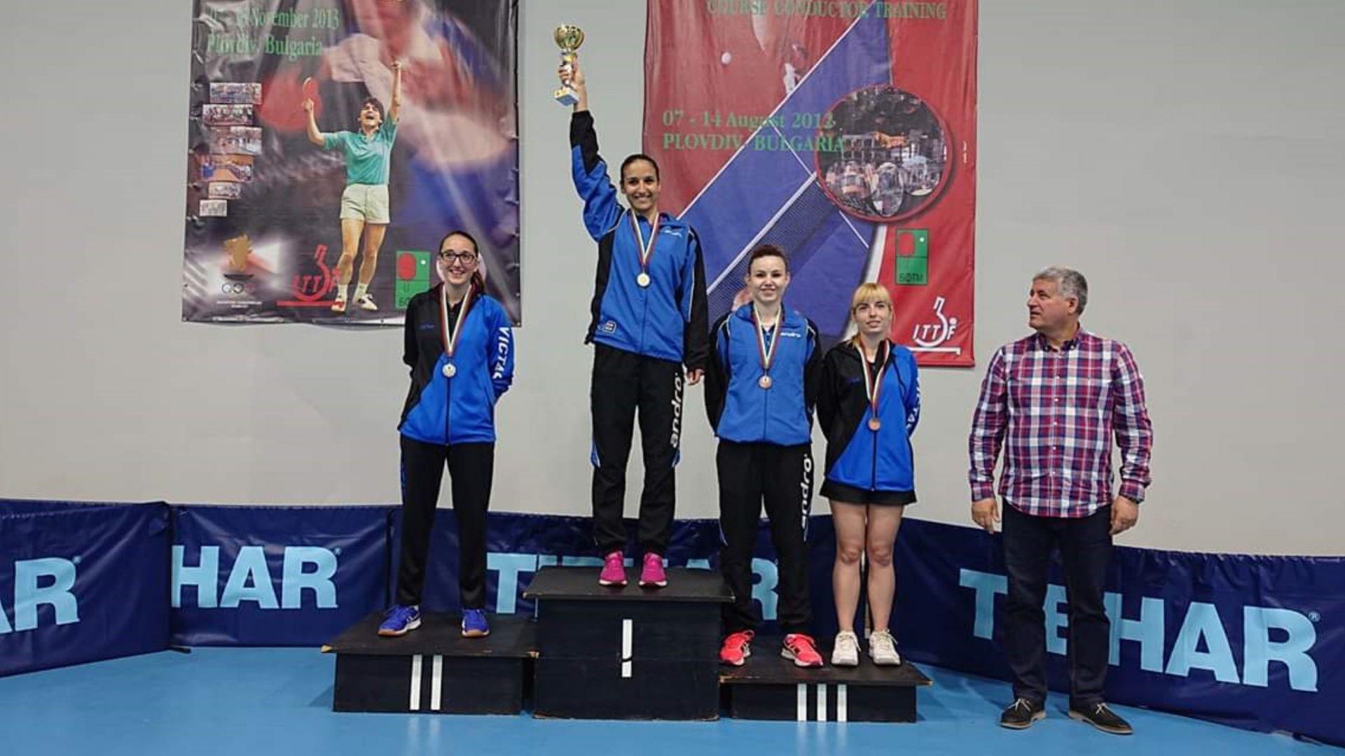 """Спортният талант на """"Еврофутбол"""" Мария Йовкова с три златни медала"""