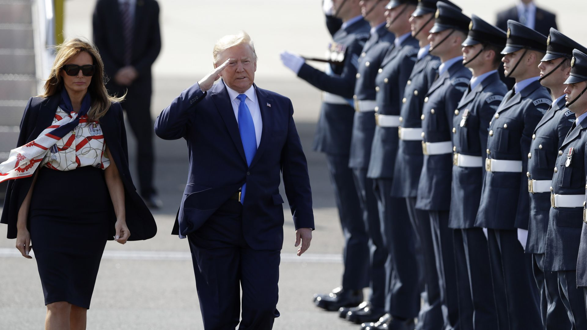 10 мерки за безопасността на Тръмп в Обединеното кралство