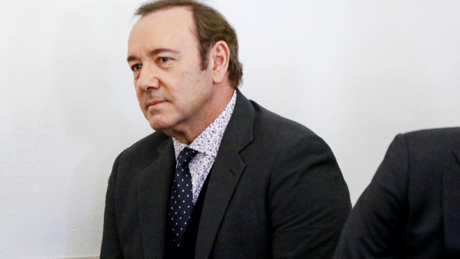Свалиха обвиненията срещу Кевин Спейси