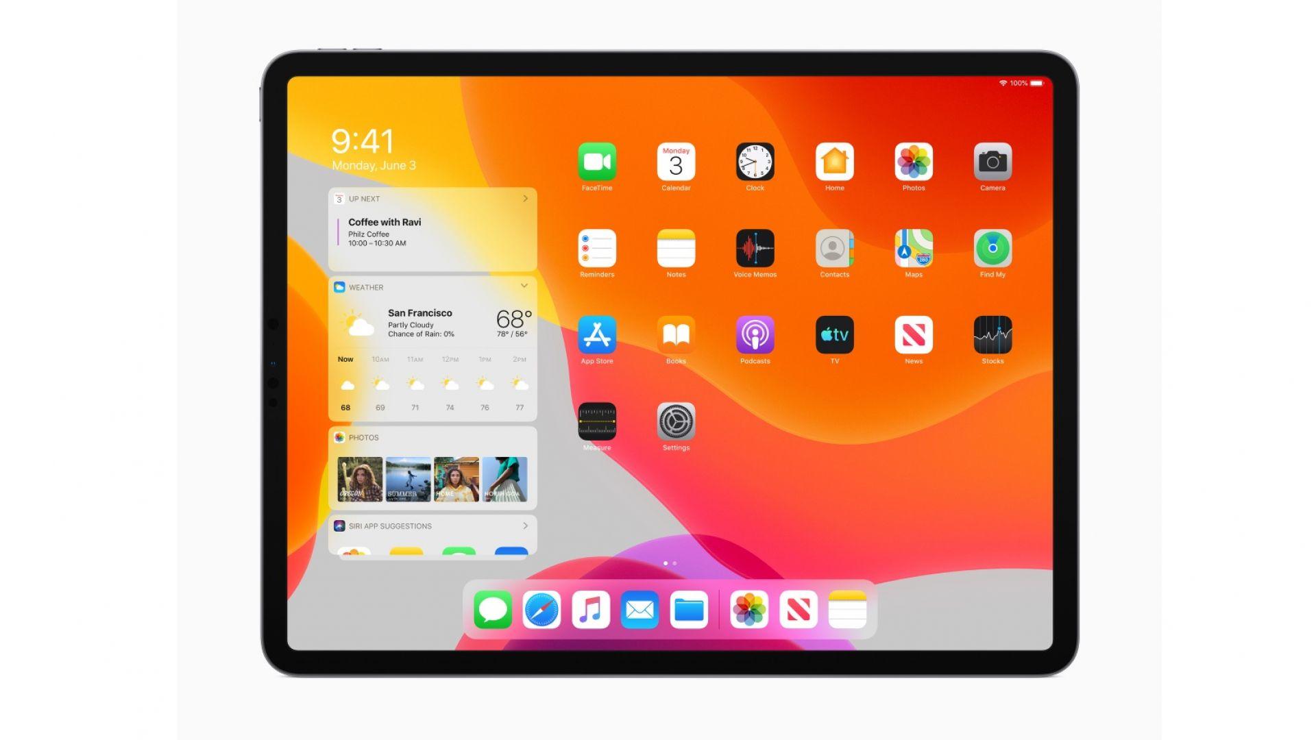 Платформата на iPad вече се нарича iPadOS