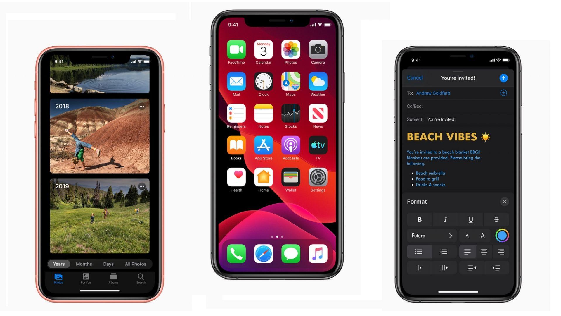 Apple показа iOS 13