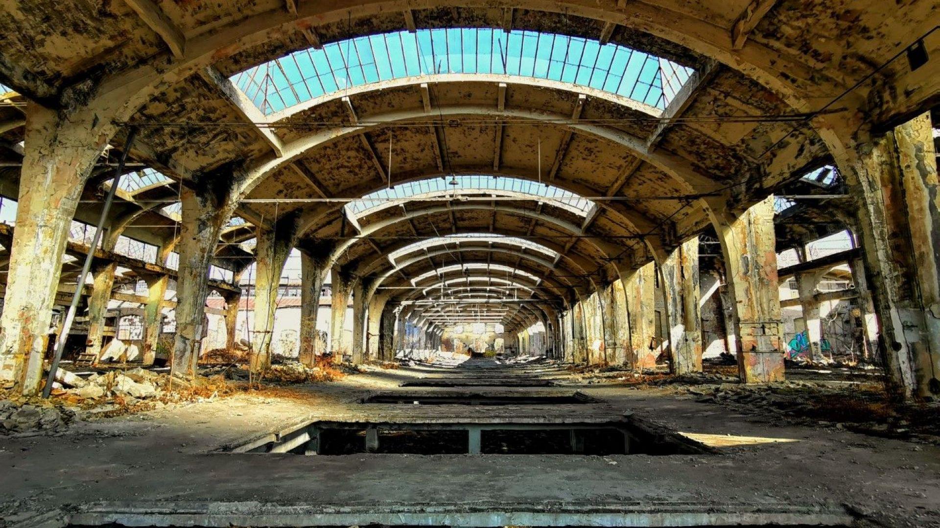 Сегашното състояние на ЖП заводът в София