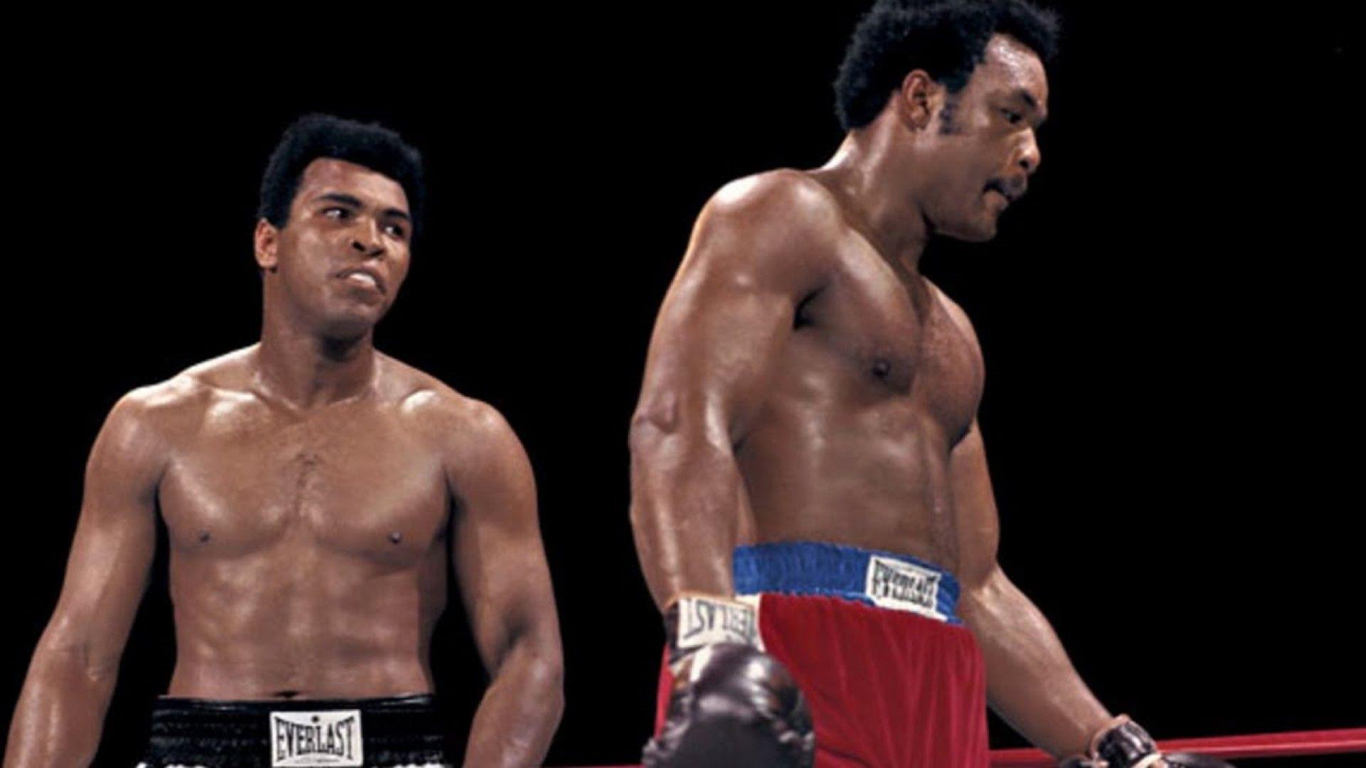 Големият сблъсък между Али и Форман