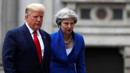"""Тръмп: След Брекзит САЩ и Великобритания ще сключат """"феноменална търговска сделка"""""""