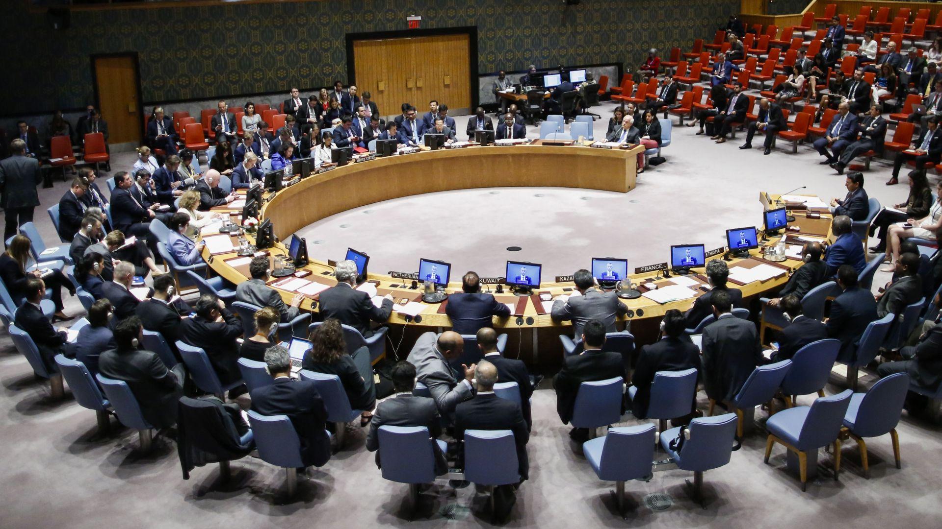 Съветът за сигурност на ООН се събра на спешно заседание