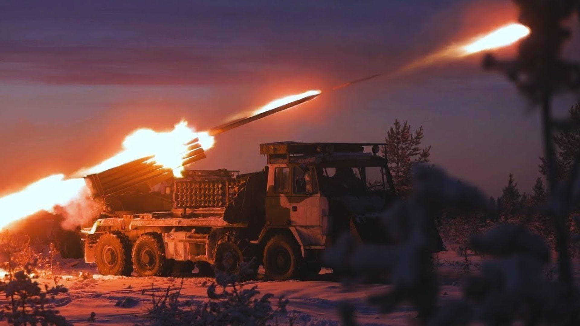 Финландската армия демонстрира силата на своята артилерия
