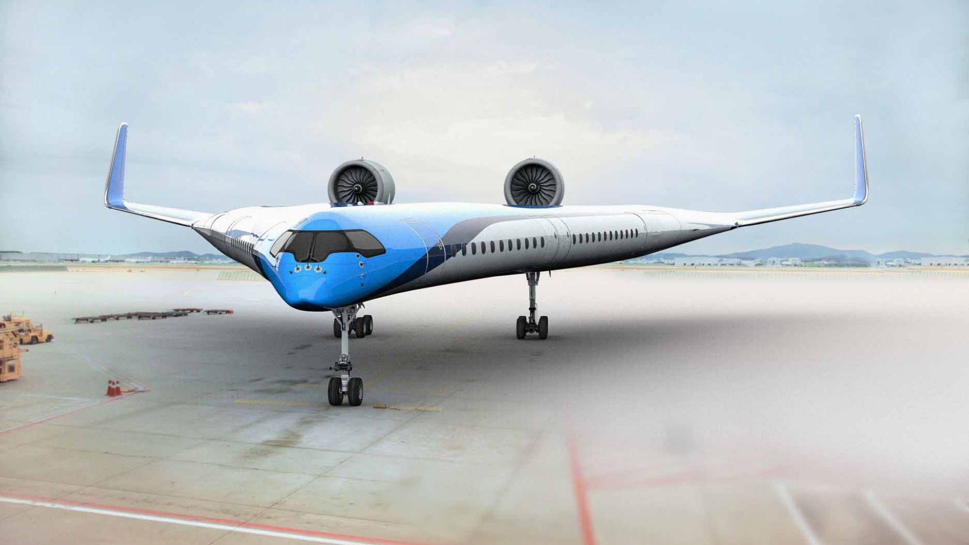 Холандци показаха революционен самолет
