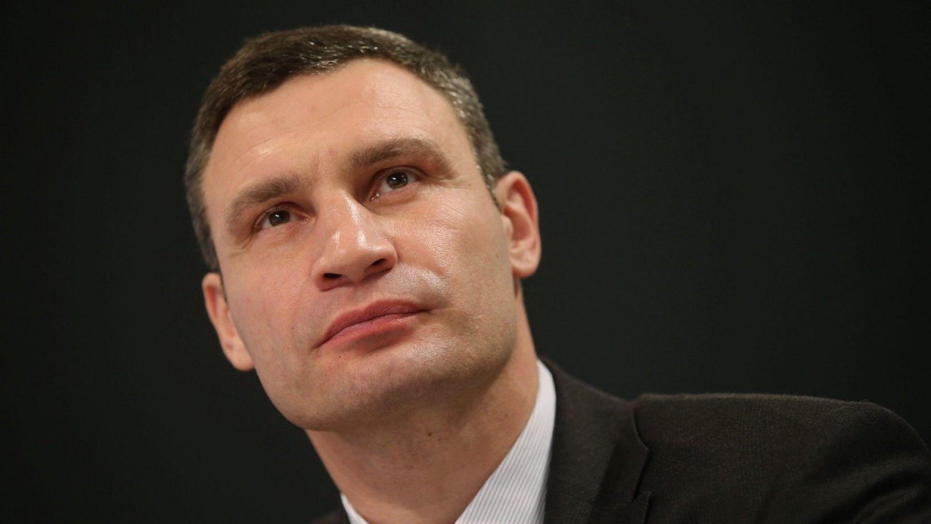 """Кличко предложи на Саакашвили да стане председател на неговата партия """"УДАР"""""""