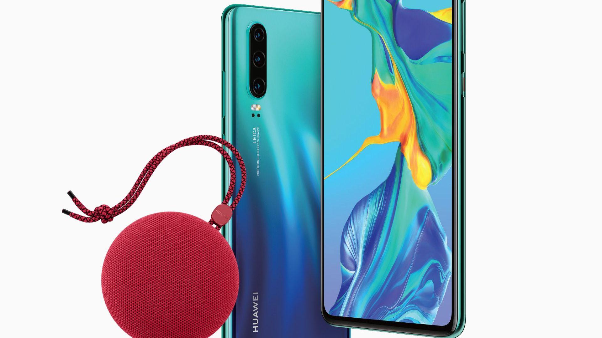 По-музикално лято с Huawei P30 и водоустойчивата колонка Soundstone