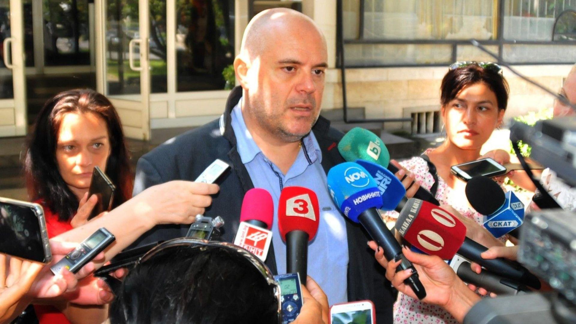 Заместник-главният прокурор Иван Гешев изрази подозрение, че във връзка с