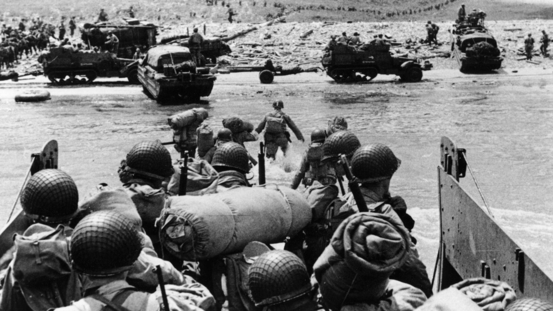 """""""Денят Д"""" -  повратната точка във Втората световна война (снимки)"""