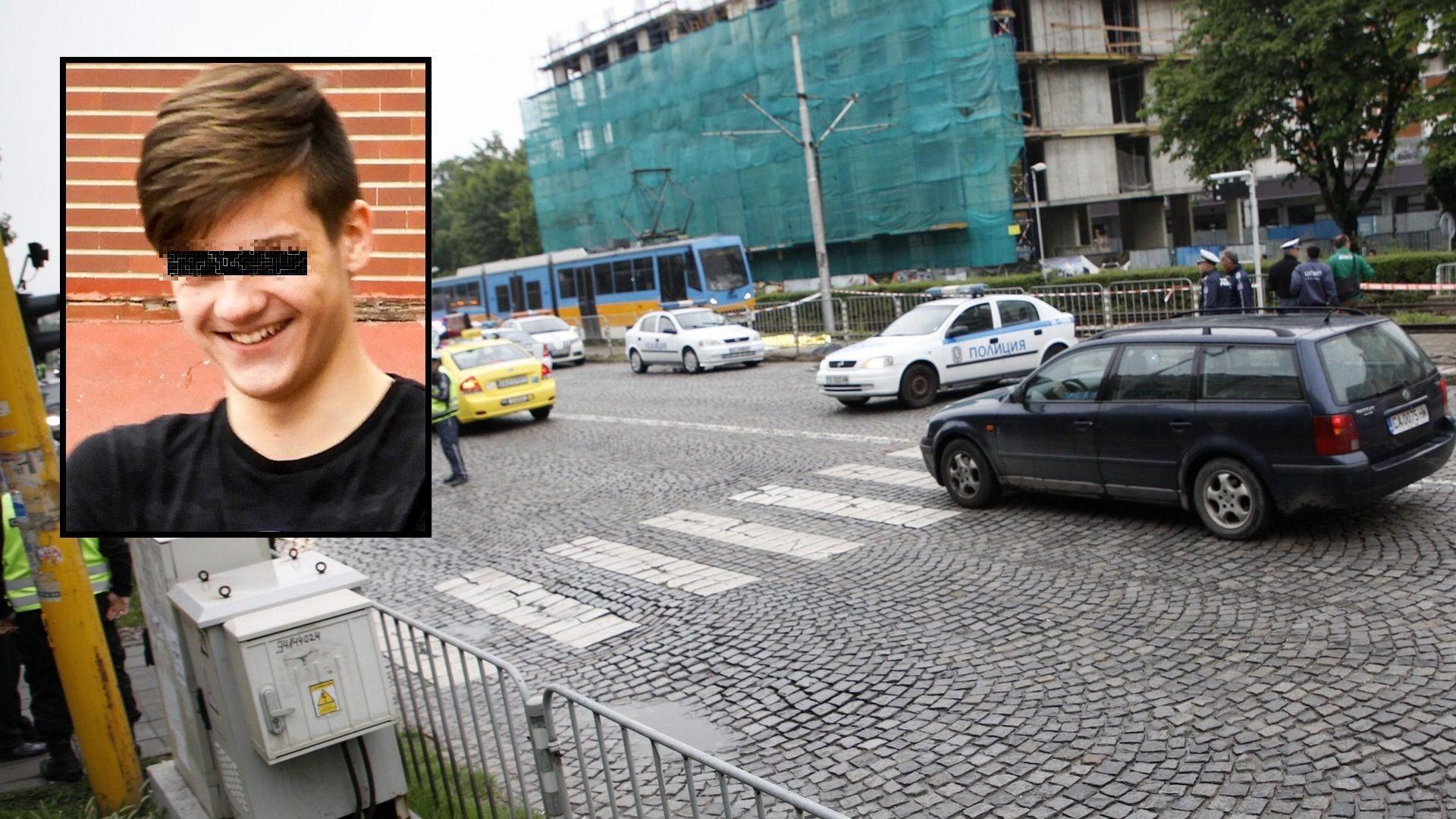 Шофьорът, блъснал и убил момче в София, не е задържан