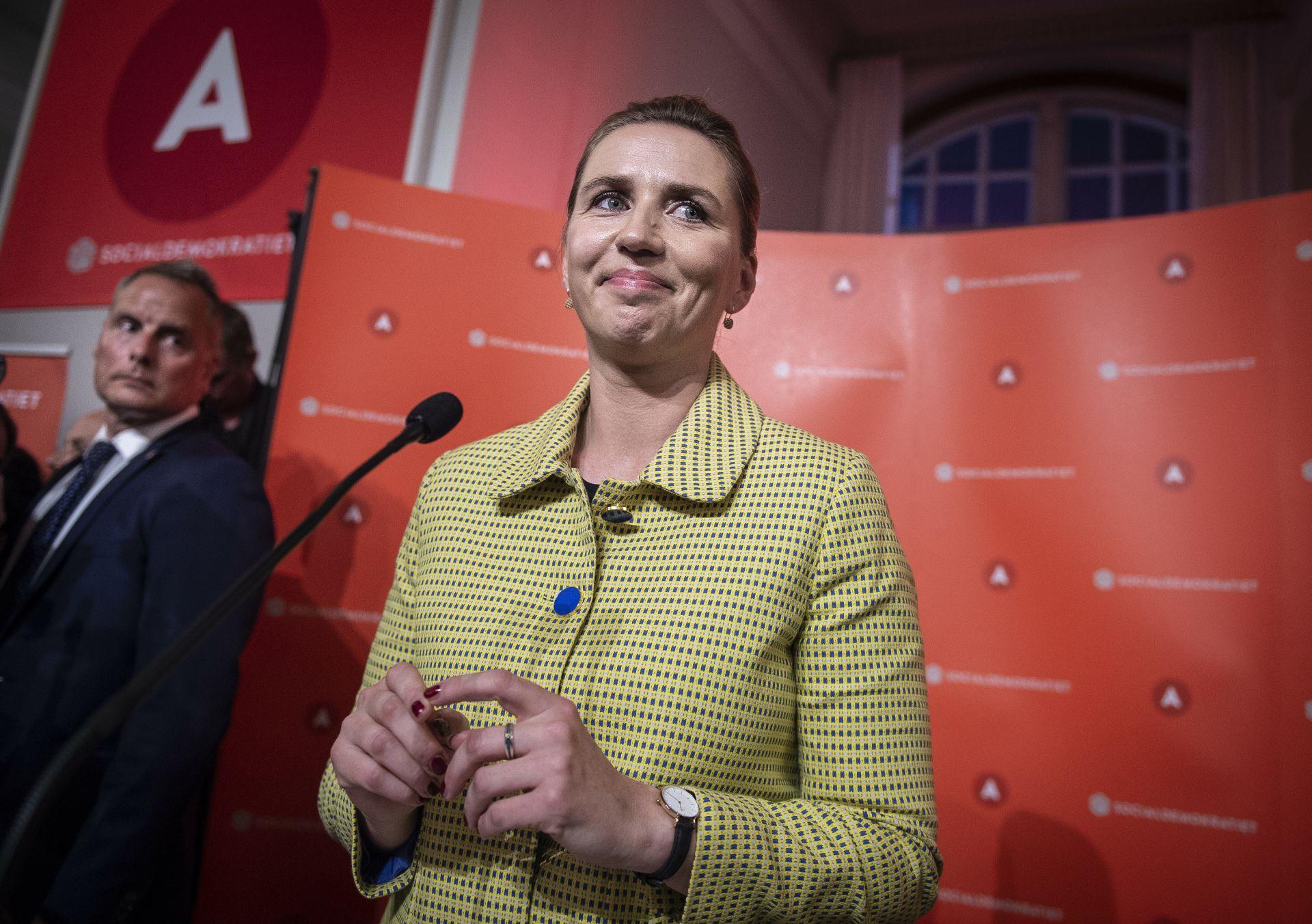 41-годишната Мете Фредериксен е на път да стане най-младият министър-председател в историята на Дания