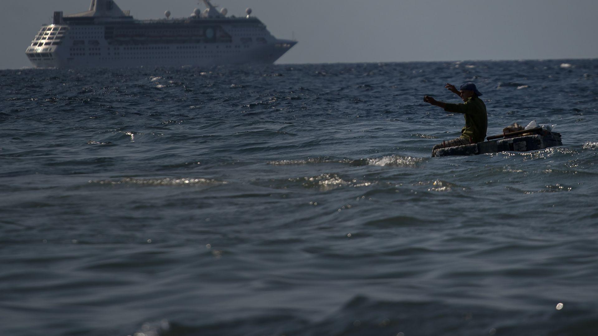 """Последният американски круизен кораб """"Императрицата на моретата"""" напусна Куба"""