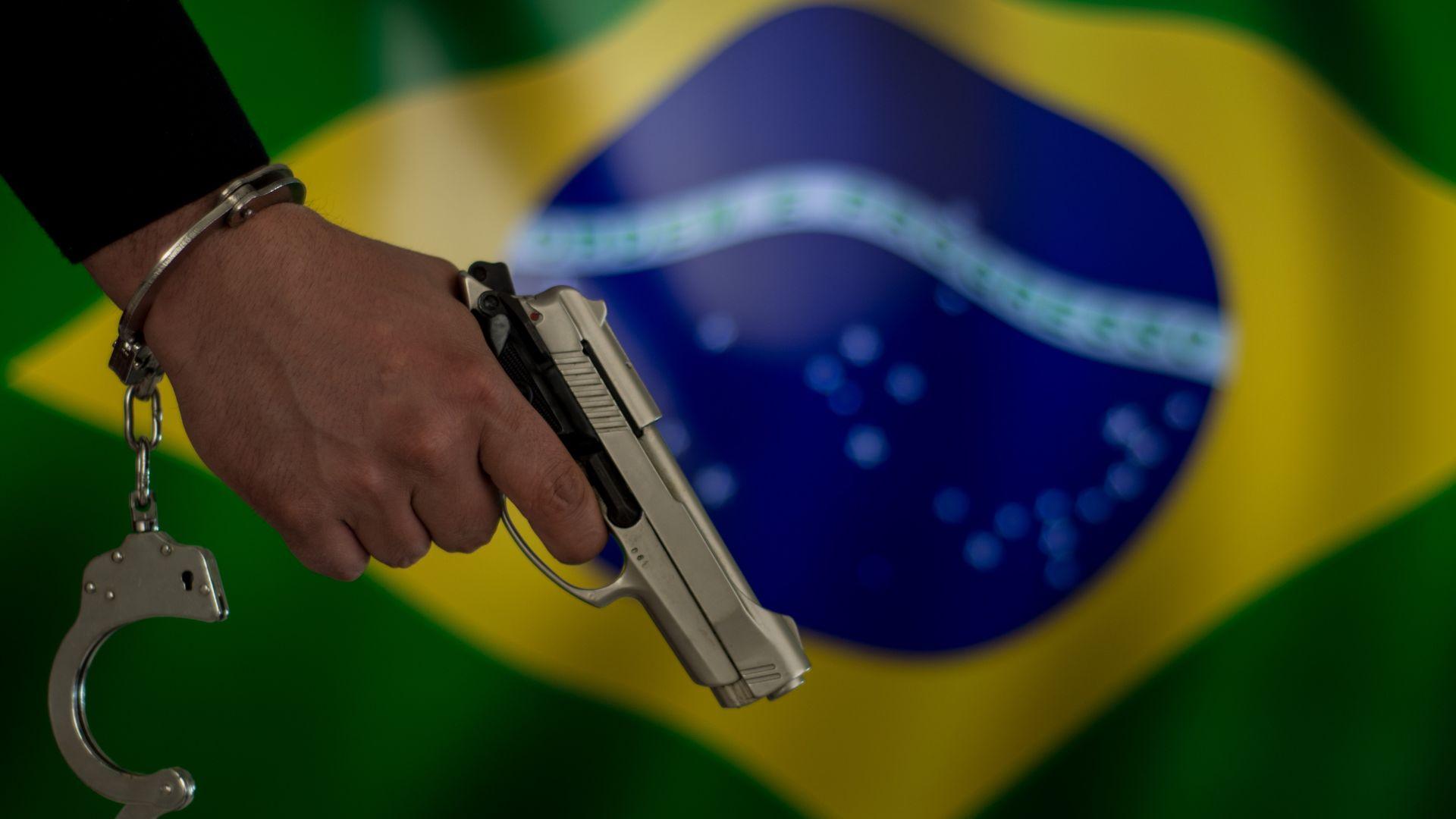 """""""Атласа на насилието"""": 65 602 убийства за година в Бразилия"""