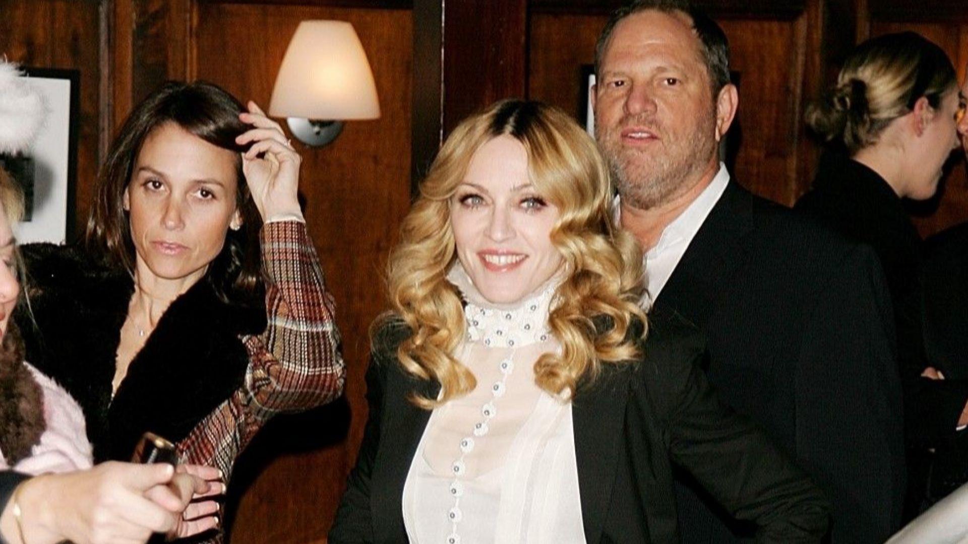 Мадона: Уайнстийн флиртуваше с мен по открито сексуален начин